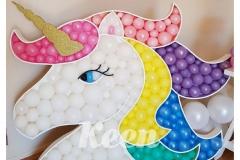 unicorn head pastel